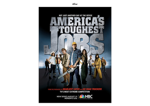 America's Toughest Jobs | NBC Show Key Art (After)
