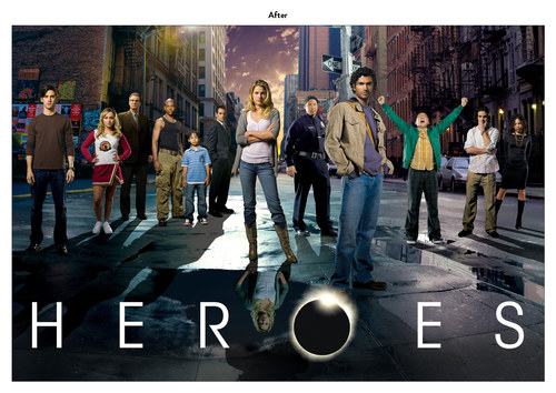 Heroes | NBC Show Key Art (After)