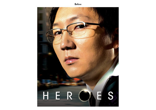 Heroes - Hiro Character | NBC Show Key Art (Before)