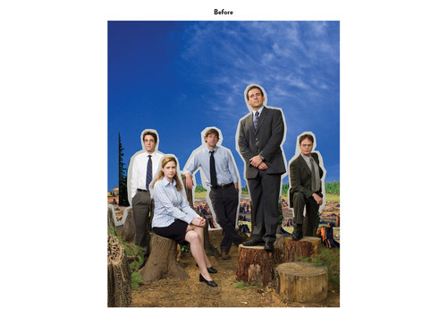 The Office, Season 4 | NBC Show Key Art (Before)