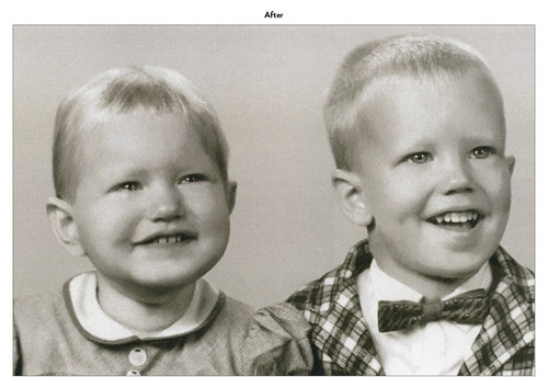 Siblings | Photo Restoration (After)