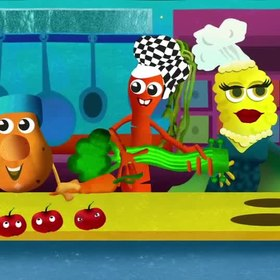 Dig In Diner - Intro Sequence for RTÉ Junior