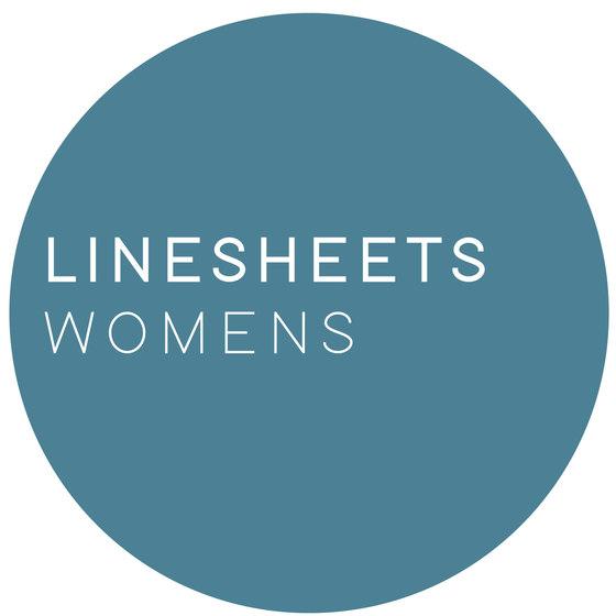 linesheets: womens