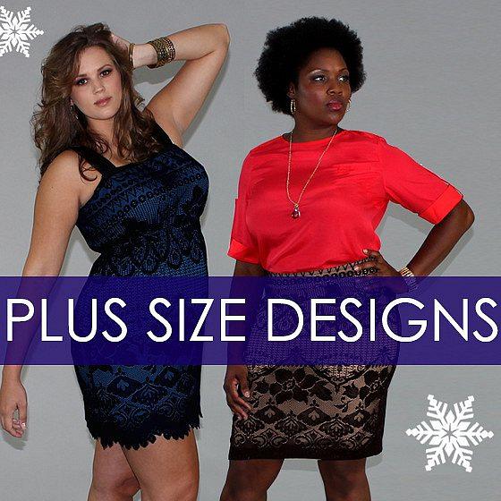 Women's plus size clothing designs