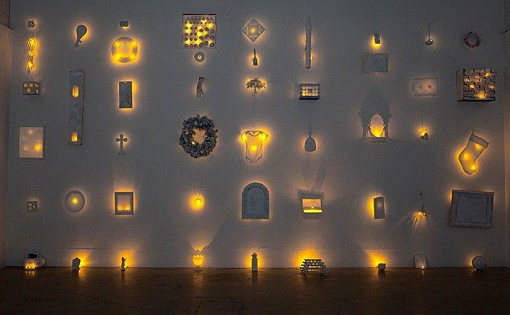 Art, Installation & Text: Less Bright Storage (Slowly Vanishing Recall), 2011